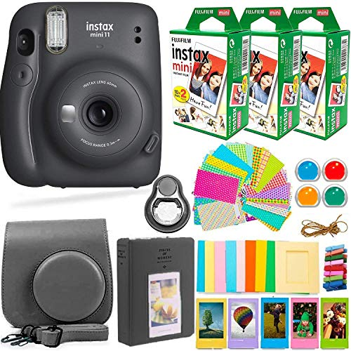 Fujifilm Instax Mini 11 Instant Camera with Accessories Bundle