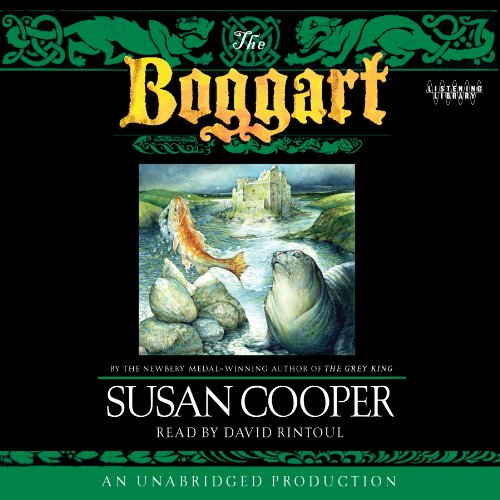 The Boggart audiobook cover art