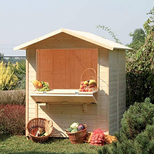 Chiosco 1718 - casetta in legno da giardino Gartenpro