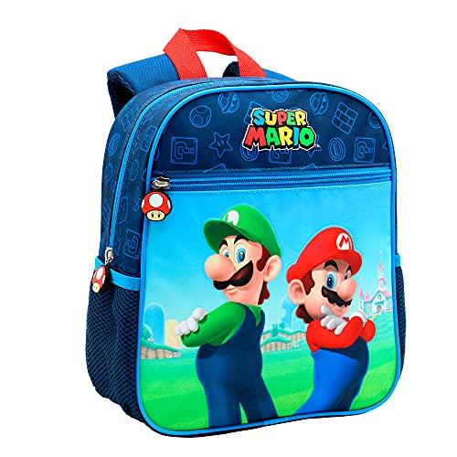 Toy Bags  Super Mario y Luichi Juguetes  Color Azul y Rojo  Grande  Toys T328 830