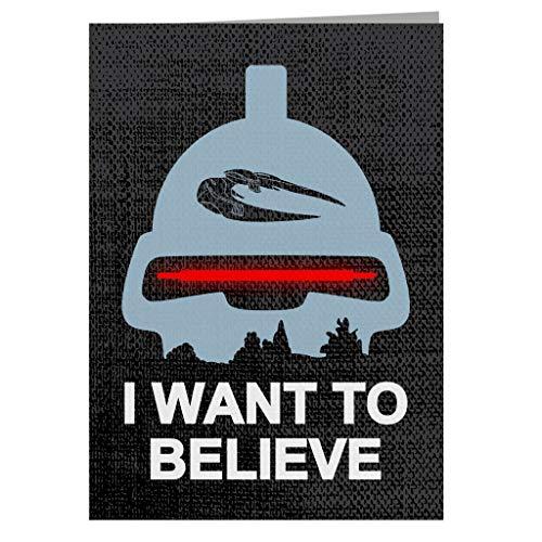 Believe In Toasters Battlestar Galactica Greeting Card