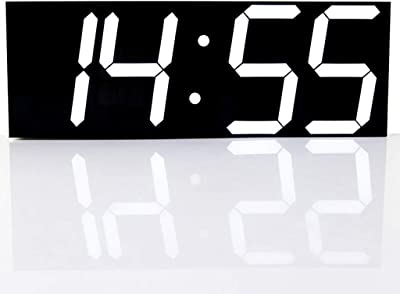 Kamas 3D LED Digital Wall Clocks 24/12 Hours Display 3 ...