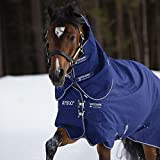 Horseware Regendecke Amigo Hero 6 Plus 155cm 200g Füllung Atlantic Blue / Atlantic Blue & Ivory