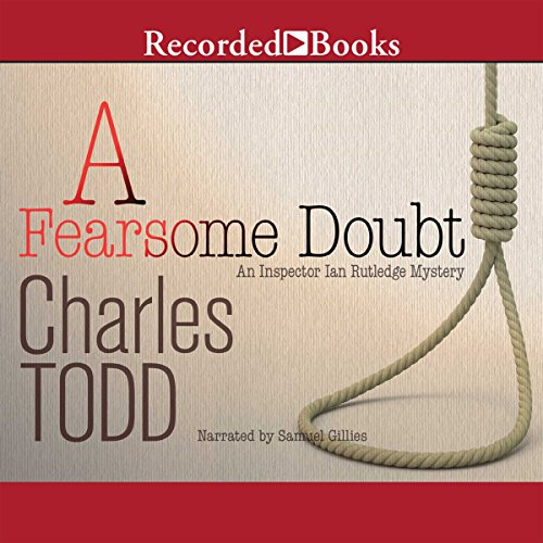 A Fearsome Doubt audiobook cover art
