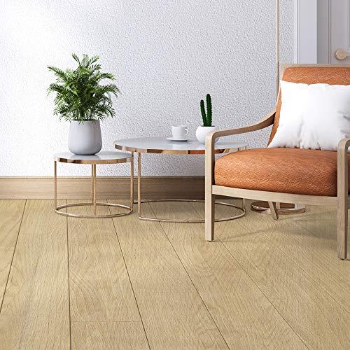 Vinyl-Boden-/Wandfliesen, Boden-Aufkleber, rutschfeste Bodenfliesen, Aufkleber für Küche, Badezimmer, selbstklebend, abziehen und aufkleben, PVC-Bodenaufkleber, Heimdekoration, 20 x 300 cm, 1 Stück