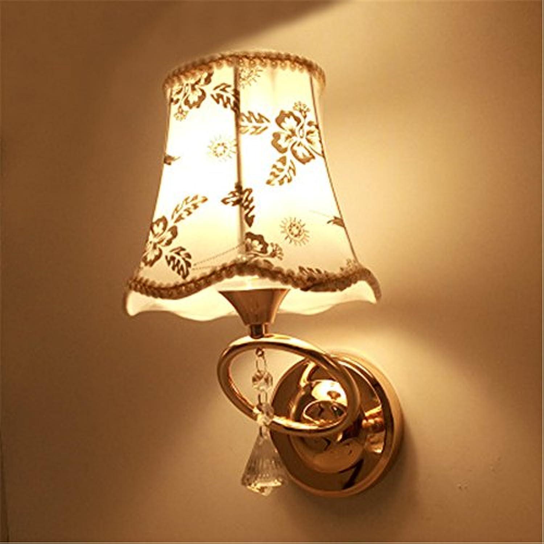 Wandbeleuchtung,Led-Wand Lampen Schlafzimmer Nachttischlampe Wohnzimmer Treppe Gang Lampe modernen minimalistischen TV an der Wand Pastorale