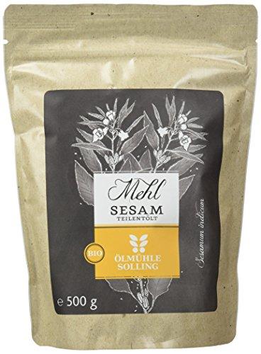 Ölmühle Solling Sesammehl Bio, 1er Pack (1 x 500 g)
