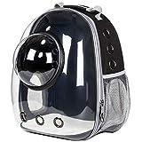 ACDZKJ Astronaut Window Bubble Carrying Travel Bag Breathable Space Capsule Transparent Pet Carrier Bag Dog Cat Backpack