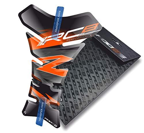 Tankpad pour KTM RC8 1190 (Noir/Orange)