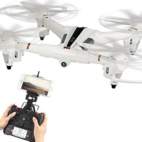 LiDi RC X300-W 2.4G 6-Axis Gyro flusso 720P orientabile obiettivo fi FPV ottica Posizionamento RC Quadcopter bordone
