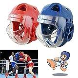 MCLseller Cascos de Boxeo, Casco de Taekwondo de Karate para niños Adultos, Accesorios...