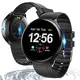 Bluetooth Smart Watch, Health & Fitness Tracker Smartwatch Heart Rate Monitor Blood Pressure Activity Watch,Sleep Monitor Pedometer