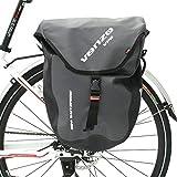 Best Bike Panniers - Venzo 600D TPU Waterproof Bike Bicycle Rear Pannier Review