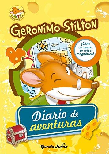 Geronimo Stilton. Diario de aventuras: Con un marco de fotos magnético: 1...