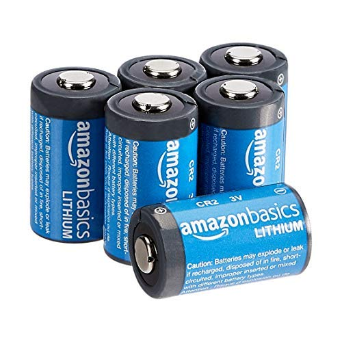 AmazonBasics - Pilas de litio CR2 de 3 V, Pack de 6