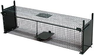 comprar comparacion Moorland Safe 5007 -Trampa para Animales Vivos - Martas, Gatos Zorros - 100x25x25cm - Alambre 2 Entradas