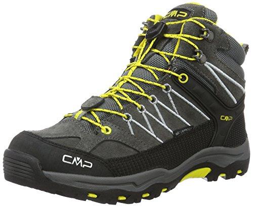 CMP Rigel, Stivali Da Escursionismo Alti Unisex – Bambini, Grigio (Antracite-Hot Pink 515Q_11), 28