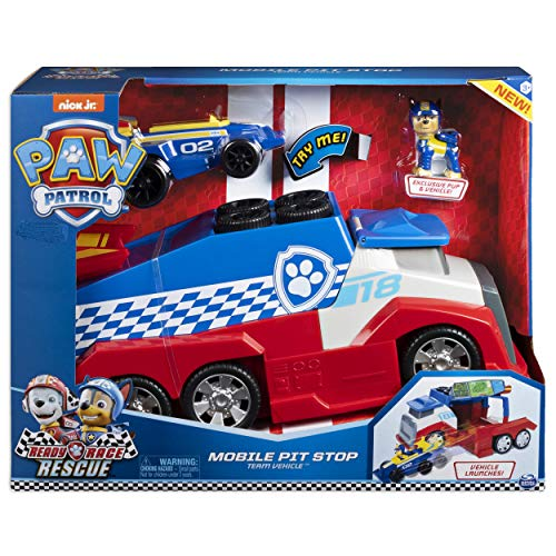 Paw Patrol Ready Race Rescue Mobile Pit Stop Playset
