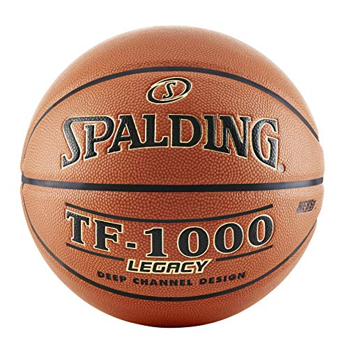 Spalding Basketball Legacy, Unisex-Erwachsene, TF-1000 Legacy™ Basketball, Orange, Intermediate Size 6, 28.5