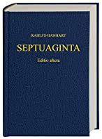 Septuaginta (Greek Edition) by Unknown(2007-05-11)