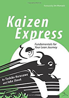 Kaizen Express: Fundamentals for Your Lean Journey (English and Japanese Edition)