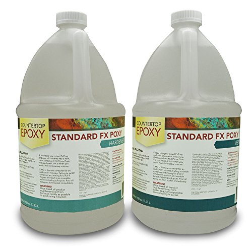 Countertop Epoxy UV Resistant, 2 Gallons