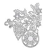 XuHang Weihnachtsglocke Schneeflocke Metall-Stanzformen Schablone Scrapbooking DIY Album Stempel...