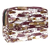 Portable Makeup Bag with Zipper Travel Toiletry Bag for Women Handy Storage Cosmetic Pouch Swarming Team