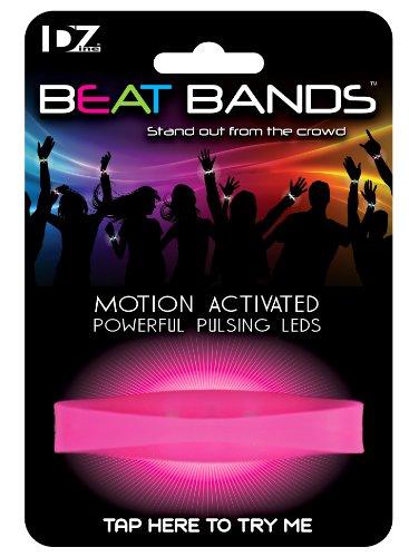 Beat Bands LED-armband met bewegingssensor, roze