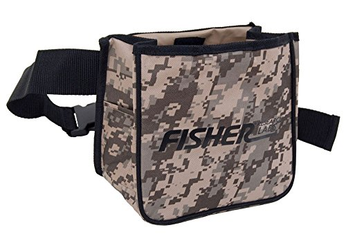 Fisher Metal Detector Camo Pouch two Large Pockets and Belt included Camouflage