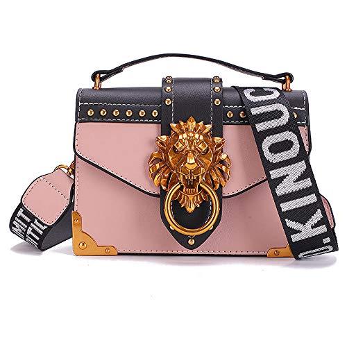 Yidajiu dames handtas mode metaal leeuw hoofd schoudertas pakket koppeling dames portemonnee handtassen Bolsos Mujer