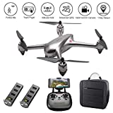 LOHOME MJX Bugs B2SE RC Quadcopter - 2.4GHz 6-Axis Gyro 1080P HD 5G WiFi Camera FPV Remote Control Drone, Long Range Drone with GPS, Altitude Hold, Headless Mode, Return to Home, 2 Battery 1 Backpack