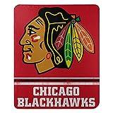 NHL Chicago Blackhawks 'Fade Away' Fleece Throw Blanket, 50' x 60'
