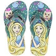 Barbie Girl's Sea Green Flip-Flops- 6 Kids UK/India (23 EU) (STY-18-19-001806)