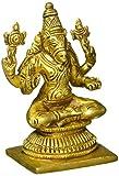 Exotic India Göttin Varahi Messingskulptur