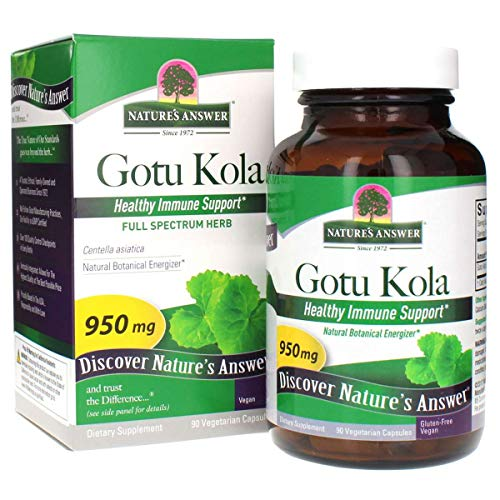 Nature's Answer, Gotu Kola 950 mg 90 vegetarische Kapseln