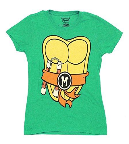 Teenage Mutant Ninja Turtles Michelangelo Costume T-shirt for Men