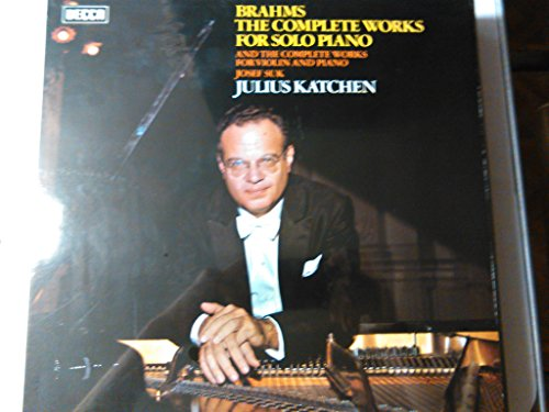BRAHMS, Johannes: The complete works for piano solo -- Julius Katchen (piano) -- DECCA ()--VINYL-DEC SDDA 261/9-DECCA - Inghilterra-BRAHMS Johannes (Germania)-KATCHEN Julius (pianoforte)