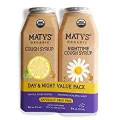 ORGANIC INGREDIENTS WITH PURPOSE: Maty's USDA Certified Organic Cough Syrup is made from the highest quality ingredients, each chosen for their healthful properties. Safe and effective, Maty's honey-based cough syrups soothe irritated throats and cal...