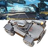 Mobiliarbus Garde-Boue de Roue de Robot RC Set Garde-Boue en Alliage d'aluminium CNC pour Robot DJI RoboMaster S1, 4 pièces