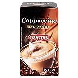 Crastan Cappuccino Solubile Non Zuccherato - Pacco da 10 X 12.50 gr - Totale: 125 gr