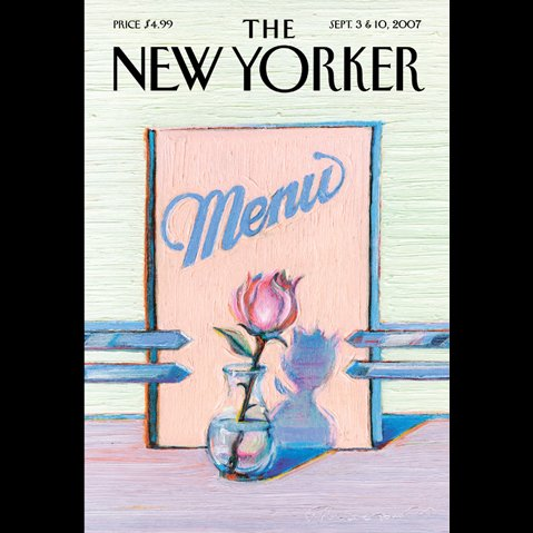 The New Yorker (September 3 & 10, 2007) audiobook cover art
