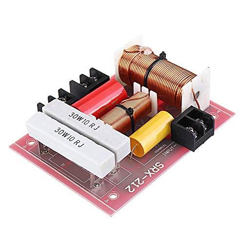 LKK-KK Módulo Experimental 500W Fiebre Segunda Etapa-WA Audio del Altavoz Crossover HI-FI de Alta y Baja de Sonido Dos Crossover Divisor Frequenc Científico