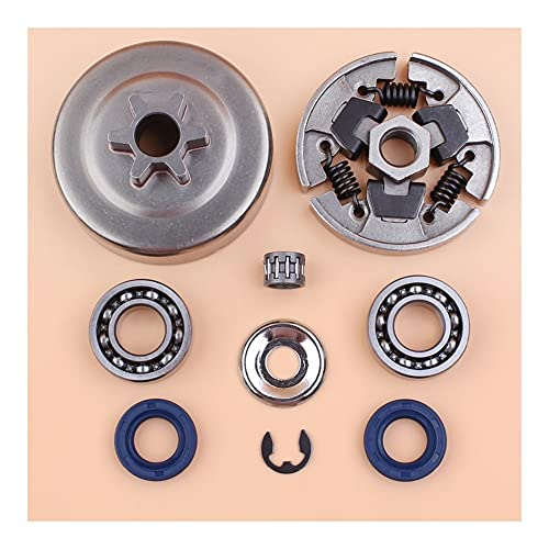 Embrague del tambor del rodamiento de los sellos de aceite de la rueda dentada de la rueda de la rueda de la rueda dentada S-TiHL MS180 MS170 018 017 Sierras de cadena de gasoilina 1123 640 2003 Buena
