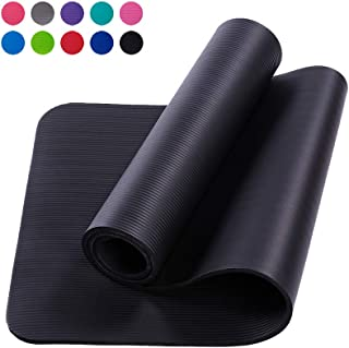 15mm Thick Yoga Mats Eco Friendly Fitness Exercise Mat Non Slip Workout Mat Sustainable Pilates Floor Mat With Carrying St...