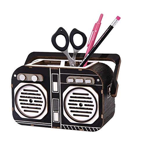 ペン立て かわいい DIY 筆筒 筆立て ペンスタンド 事務用品 飾り箱 ペンコンテナ 雑貨入れ 卓上文房具収納用品 小物入れ ペン立て