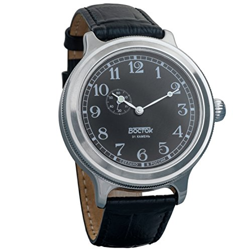 Vostok Retro Kirovskie K-43 WWII - Reloj de pulsera para hombre, estilo II...