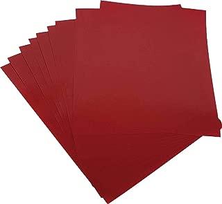 Contra Capa Encadernação, Mares 66801, Vermelho, A4, Pacote de 50