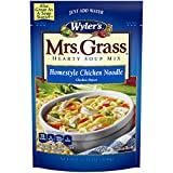 Mrs. Grass Homestyle Chicken Noodle Hearty Soup Mix (5.93 oz Pouches, Pack of 8)