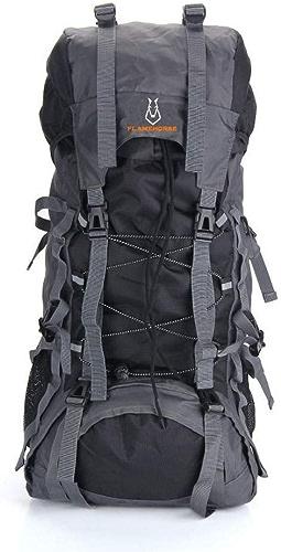 YWHY Sac A Dos 60L Sac à Dos étanche en Plein Air De Haute Qualité Voyage Sac à Dos Camping Alpinisme Randonnée Sacs à Dos, C, 60L